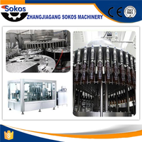Automatic Carbonated Beverage Can Filling Machine