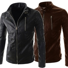 Wholesale Custom <strong>Men's</strong> Studded Leather Motor Jackets From Pakistan Karachi