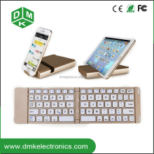 portable mini folding bluetooth tablet keyboard with tablet case