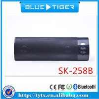 Best selling products mini wireless bluetooth outdoor speaker SK-258B with two loudspeaker inside