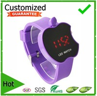 AP LED Wrist Watch with Digital Display and Silicone Strap and Plastic Watch Case