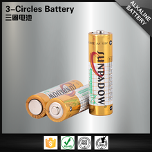 High quality discharge 2100mah aa lr6 am3 alkaline battery