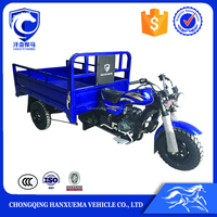 2016 China open bule cargo gas motor tricycle