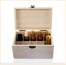Wholesale Custom Pine 24 25 30 Compartment Essential Oil Wood Storage Box
