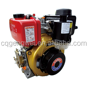 Air cooled single cylinder 170F/178F/186F diesel engine