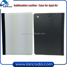 sublimation leather tablet case for ipad5,ipad air