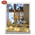 Beautiful Candle Light MDF Canvas Decoration Painting For Wall Decoration