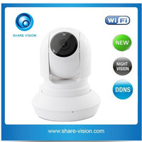 new 720p h.264 indoor PTZ wireless ip camera security wifi