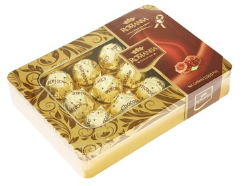 Compound Chocolate with peanut Decked Gift Box 9 Pieces T9