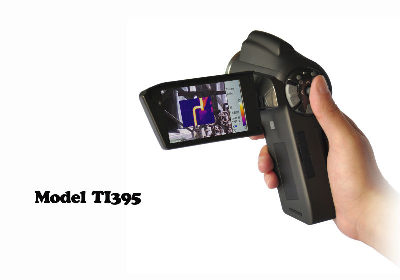 model TI395 384x288 pixels thermal camera china