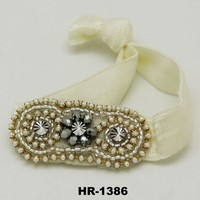 Hot Sell 2015 Europe And America Popular Pearl Flower Ladies Hair Band/Headband/Hair Accessories Wholesale