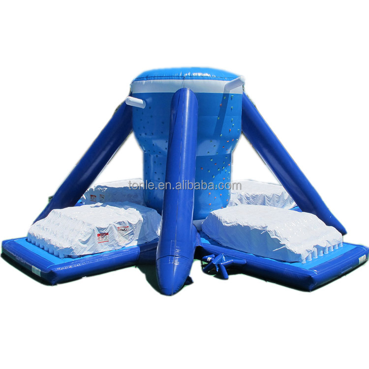 hot sale inflatable Free Klimb with zero shock and climbing walls for kids and adults