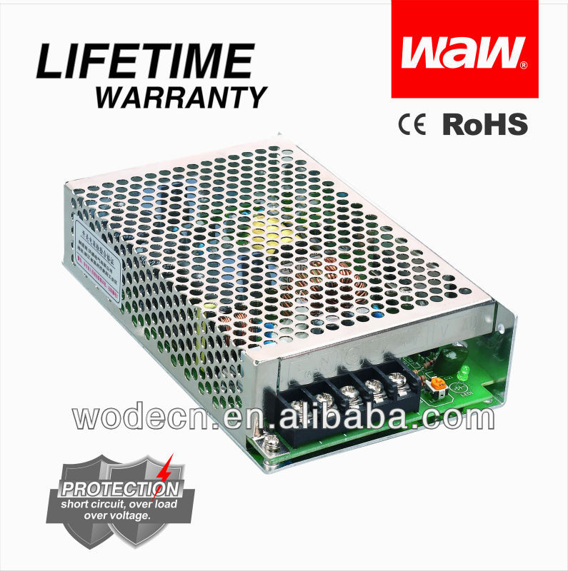NES-75-24 100 volt dc power supply with CE ROHS approved