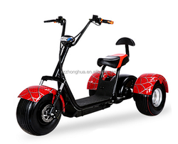 S-001 Electric Halley Fat Tyre Motorcycle /electric Tricycle scooter / new model