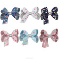 2017 New Colorful Polka Dot 3 Inch Bows HBW-1701091