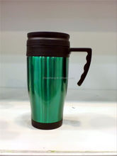 promotional high quality stainless steel double wall 12V electric usb travel mug