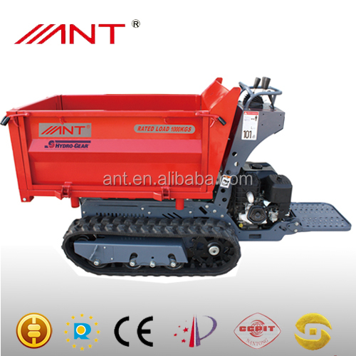 Mini dumper Dump truck for sale CE BY1000 1t loading