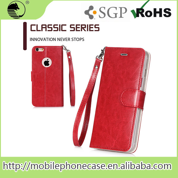 Waterproof Cellphone Case, Pu Leather Case, Guangzhou Mobile Phone Shell For iphone 6/6s/7