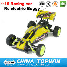1:10 electric 4wd rc racing car rc car transmitter and receiver