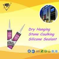 600ML Sausage Dry Hanging Stone Caulking Silicone Sealant