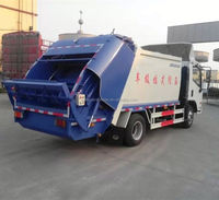 Foton hanging bin dump refuse collector garbage truck for sale