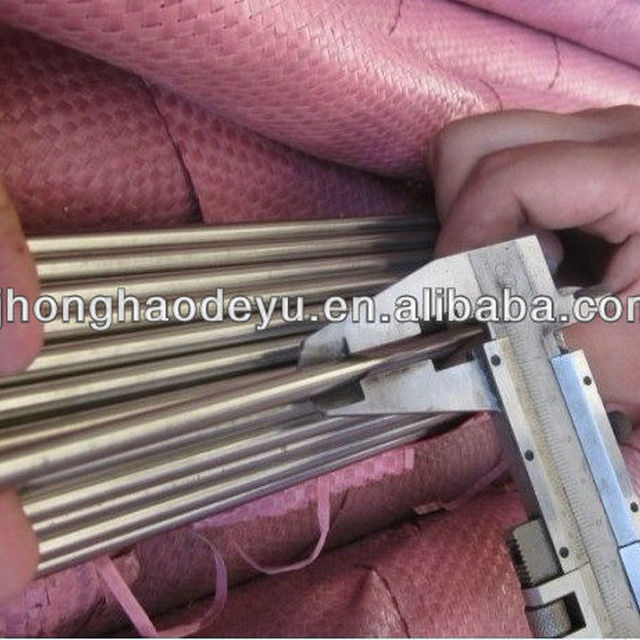 316 Stainless Steel Round Rod, Unpolished (Mill) Finish, Standard Tolerance, Inch, Meets ASTM A276 Specifications