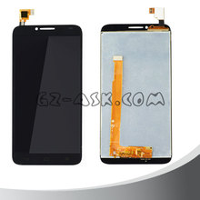 for alcatel mobile phone One Touch Idol 2 OT6037 6037 6037y 6037k display touch screen ditigizer full set Black 2016