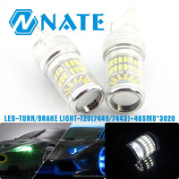 new product car turn brake light t20 w21/5w 7443 led