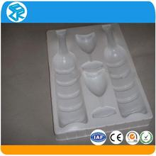 clear plastic retail packaging, plastic wine bottle carrier