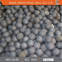ISO certified ball mill grinding media JINCHI forged steel ball