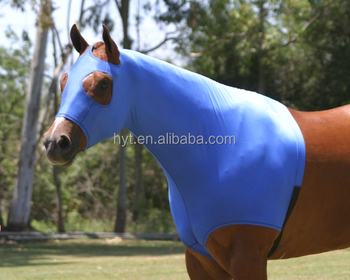 Half-length Lycra Fabric Horse Sheet