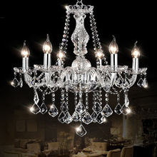 8 Arms Classical crystal ceiling light k9 crystal chandelier luxury crystal chandeliers