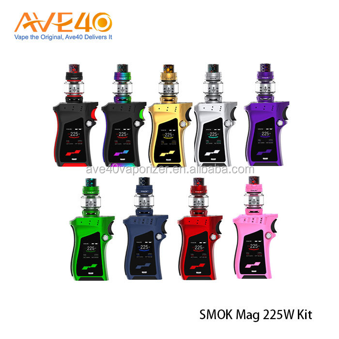 Hot Products Top 20 Vapor Pen Kit Chinese Supplier Smok Mag 225w Kit With Tfv12 Prince Tank