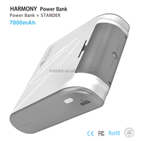2014 new arrive Harmony instead of holder mobile power bank mobiles 7800mah