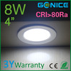 3.5inch/4inch/5inch/6inch/8inch led down lights 3 years warranty