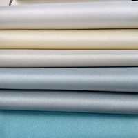 Polyester satin PA coated washable blackout fabric for drapes