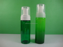 Gradient plastic foam pump bottle 150ml