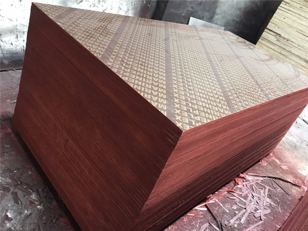 HUIFENG Black/Brown Film Faced Plywood HF Construction Material/ HF012 Waterproof Shuttering Plywood