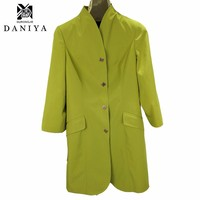 new design long style coat custom made style high quality custom made womens trench coats wholesale price