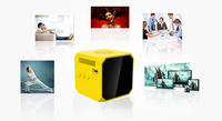 Home theater projector 50 Lumens 1080P 3D movies projector