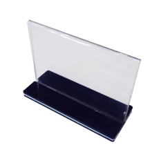 Acrylic Table Display Stand Menu Holder