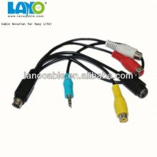 Wholesale good material audio fiber optic cable with good quality