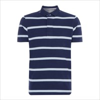 Top Quality OEM Apparel Fashion Cheap Price 100 Organic Cotton Custom Striped Mens Polo T shirt