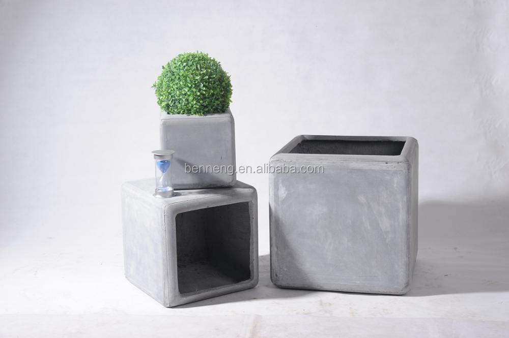 FS12 European style cement flower pot succulent planter garden pots