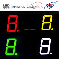 cheap price single led display 4 inch 7 segment led display module