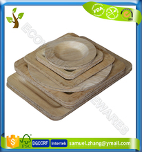 Cheap Disposable Natural Bamboo Leaf Plate