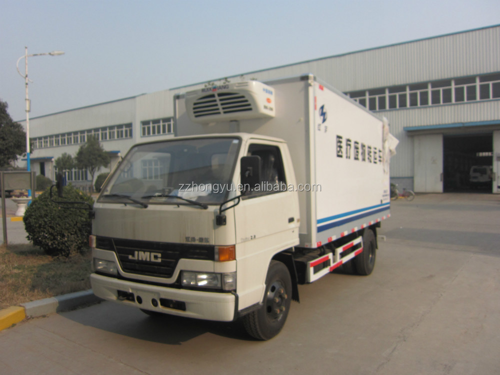 3.5-4tons medical waste truck/ refrigerator box truck/popular food truck for sale