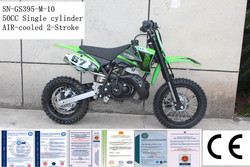 Hot selling 50cc motorcycle 2 stroke motorcycle kick start pit bike made in China