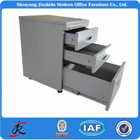 OEM office mobile 2 drawer 4 drawer fireproof knoll file cabinet remove drawer