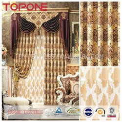 Soft feel Wholesale newest design window cotton curtain